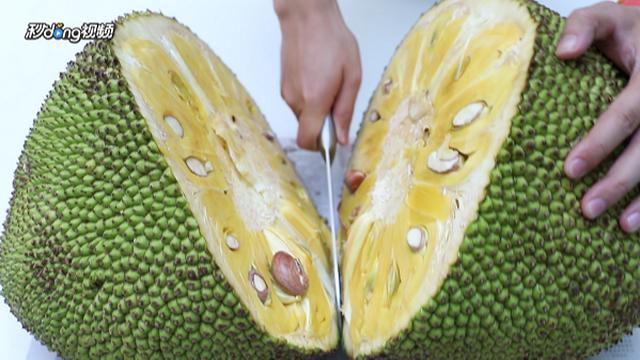菠萝蜜怎么剥皮图片_菠萝蜜怎么剥-百度经验