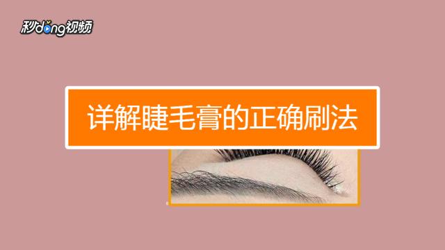 如何刷睫毛膏视频_刷睫毛膏的正确步骤-百度经验