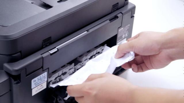 怎么处理打印机卡纸问题-百度经验
