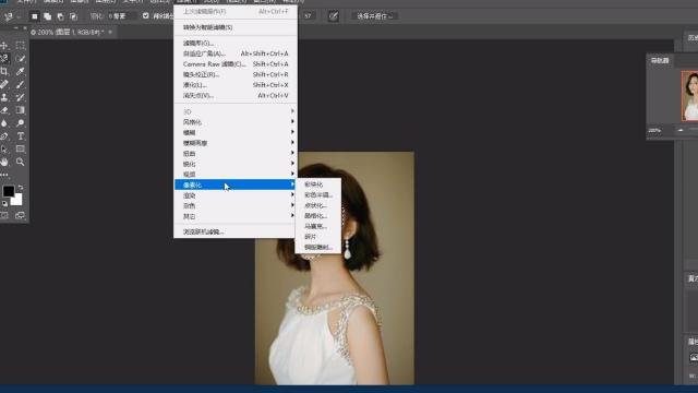 ps中怎样画同心圆_Photoshop添加马赛克-百度经验