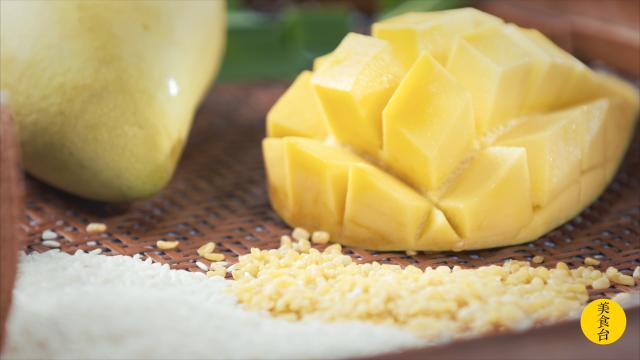 芒果布蕾配方_芒果糯米饭的家常做法-百度经验